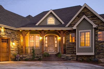 craftsman home  angled garage rw architectural designs house plans