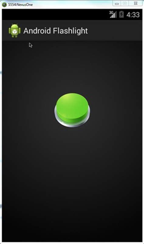 flashlight android android flashlight application tutorial java tutorial
