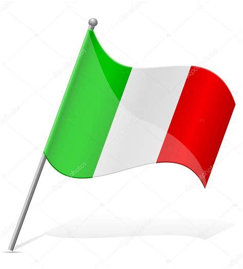 italian flag vector illustration stock 이탈리아 벡터 일러스트 레이 션의 국기 스톡 벡터 169 kontur vid 52966759 ital