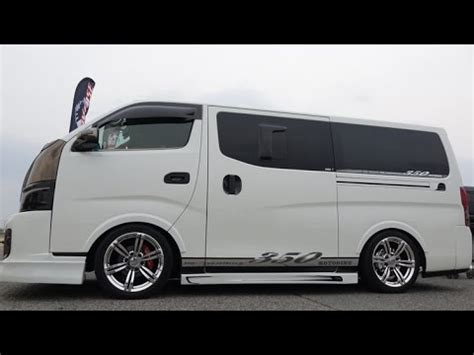 nissan urvan modified related video