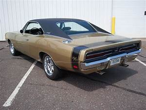 1969 Charger R  T Rare Color Y4 Gold Poly