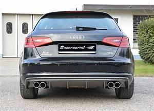 Audi A3 8v : audi a3 8v saloon 12 15 rear bumper diffuser s3 look ~ Nature-et-papiers.com Idées de Décoration