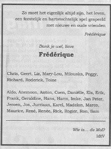 rik felderhof overleden frederique huydts