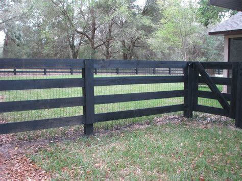 51 Best Horse Fence Designs Images On Pinterest