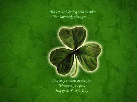 Happy St. Patrick's Day 2012 Powerpoint Backgrounds Free