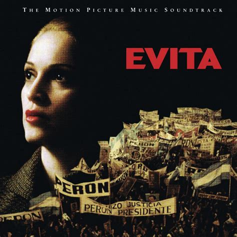 evita madonna soundtrack album musical eva peron mad eyes