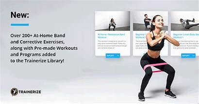 Trainerize Workouts Programs Corrective Exercises Band Working
