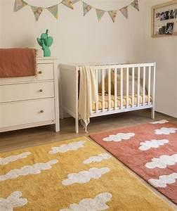 Kinderzimmer deko mit wolken 5 tipps und 30 beispiele for Balkon teppich mit tapete himmel wolken