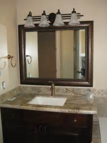 framed bathroom mirror ideas bathrooms framed vanity mirrors