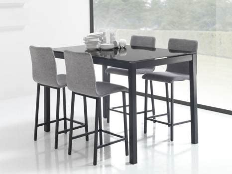 table haute de cuisine et tabouret table haute et tabouret de cuisine cuisine en image