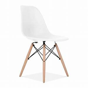 Eames Style White DSW Chair Cafe & Side Chairs Cult