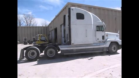 freightliner fld semi truck  sale sold