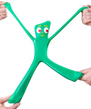 Giant Stretchy Gumby Awesomage