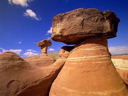 Utah Rock Deserts Nature Staircase Grand National