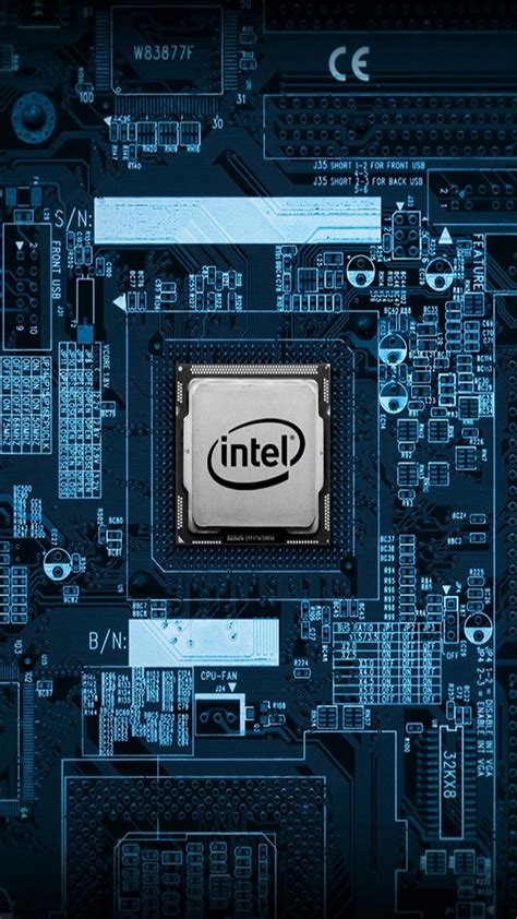 circuitintel cpu motherboard internals iphone  wallpaper