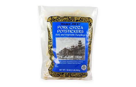 pork gyoza potstickers  taste test  trader joes