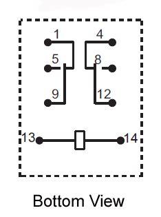 gr220pin dpdt 220vac 5a 8 pin terminals relay technical data