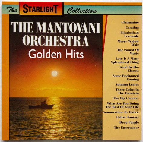 Mantovani Hits by Mantovani And His Orchestra Golden Hits Cd Compilation