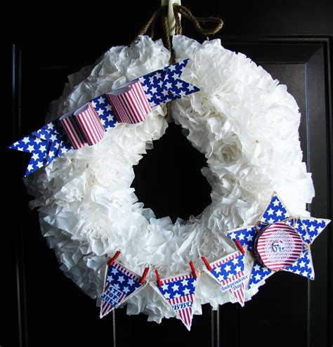 4th of july wreath 4th of july wreath canvas corp
