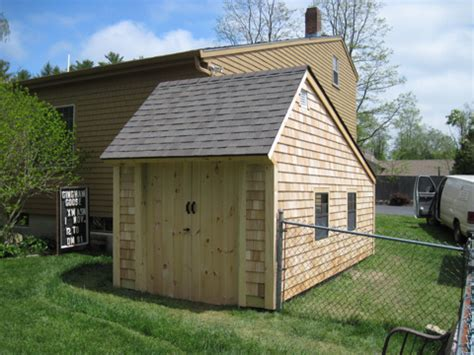 Saltbox Shed Plans 12x16 by Atlantic Shed Saltbox Clapboard