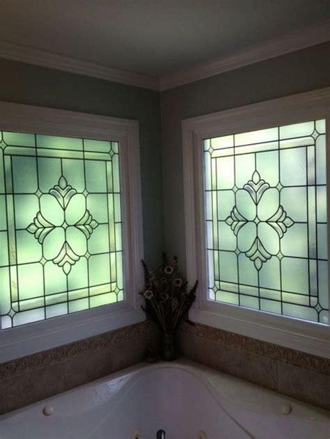 decorative windows  bathrooms  ideas  bathroom