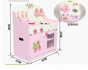 Cuisine Bebe Bois : acheter cuisine en bois enfants b b jouets cuire fraise m re jardin rose table ~ Teatrodelosmanantiales.com Idées de Décoration