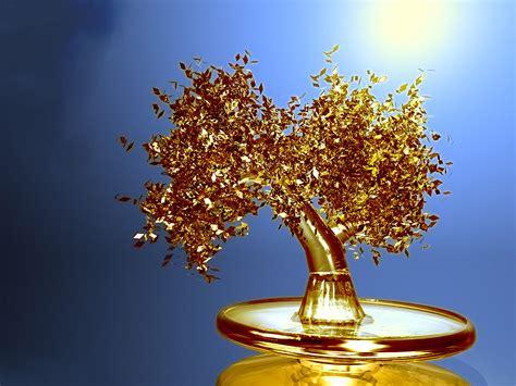 gold tree wallpaper wallpapersafari