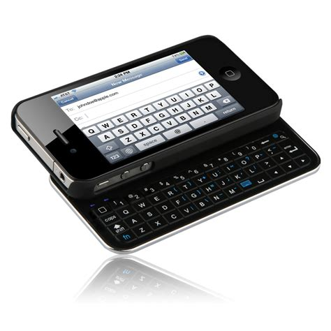 iphone keyboard naztech n5100 slideout bluetooth qwerty keyboard for