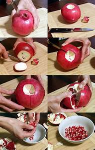 How to Remove Pomegranate Seeds - The Zero-Waste Chef