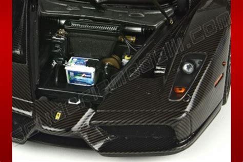 bbr models  ferrari ferrari  enzo carbon fiber