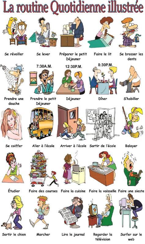 cv femme de chambre on apprend le français la routine quotidienne et les