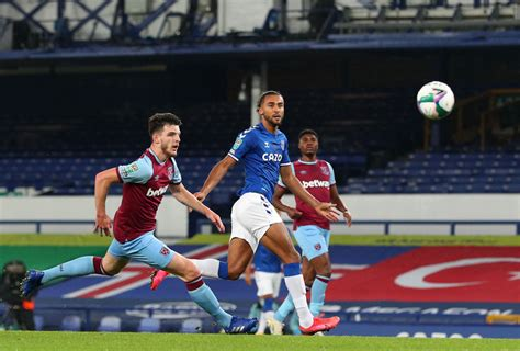 West Ham's Rice sends message to Everton striker Calvert-Lewin