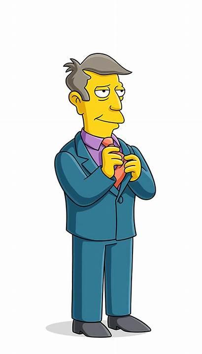 Skinner Simpsons Principal Seymour Character Mr Characters