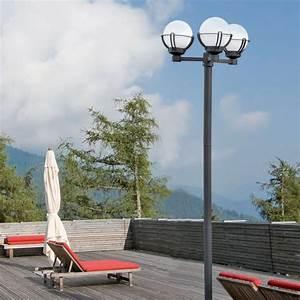 Location Lampadaire Exterieur : lampadaire ext rieur sol 3 lumi res e27 20w faro ~ Edinachiropracticcenter.com Idées de Décoration