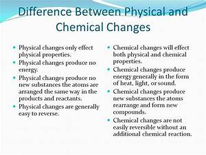 Physical vs. Chemical Changes - ppt video online download