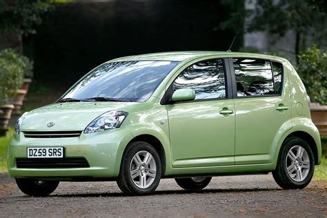 daihatsu sirion  car review honest john