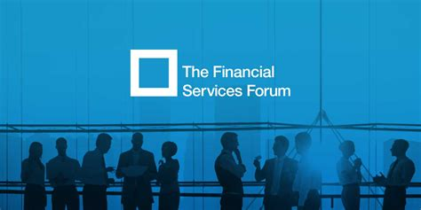 For Service by The Financial Services Forum