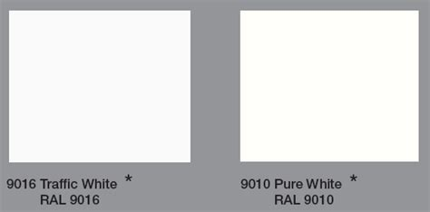 Ral 9010 Ral 9016 Unterschied by Single Panel White Interiors Ltd