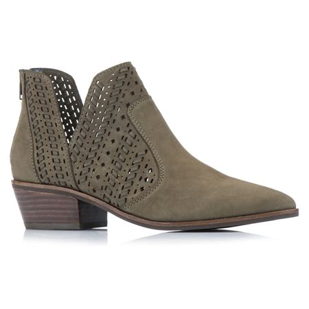 No wardrobe would be complete without a versatile pair of boots to go with everything. Diana Ferrari Wishy Stitched and Cut Away Leather Boot