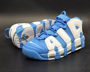 """Nike Air More Uptempo """"UNC' University Blue and White 2017 ..."""