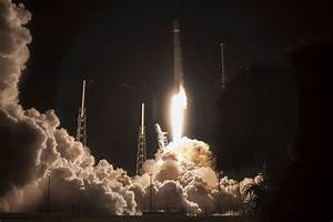 Falcon 9 Rocket lifts Japanese Communications Satellite ...