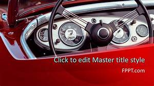 Creating Powerpoint Template Free Classic Car Powerpoint Template Free Powerpoint