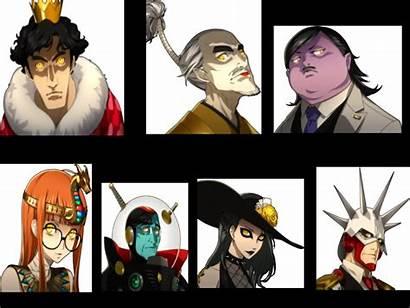 Persona Villains Joker Shadows Mask Wiki Transparent