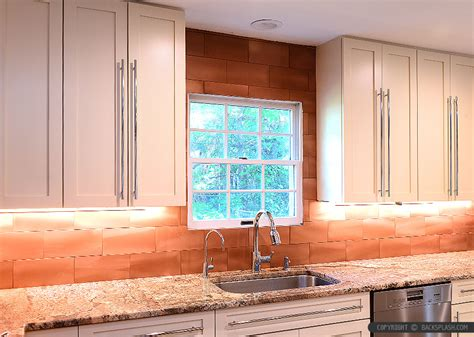 Copper Tiles Backsplash : 6 Copper Backsplash Tile Typhoon Bordeaux Granite