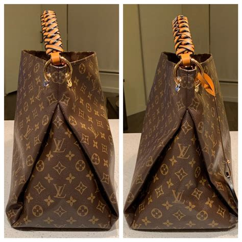 louis vuitton artsy mm braided top handle   monogram canvas hobo bag tradesy