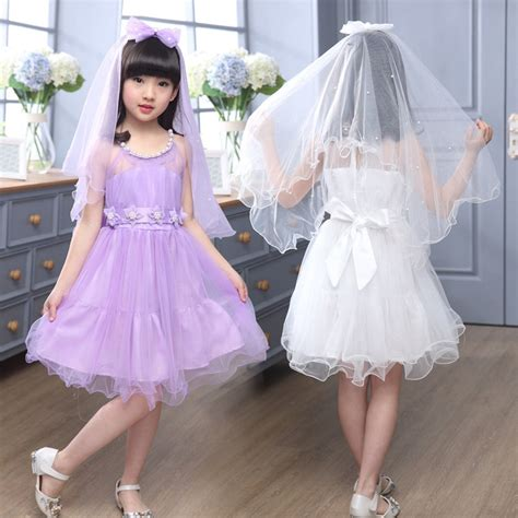 Girls Dresses For Wedding Gowns Kids Wedding Summer Party Dresses For Girls Lace Birthday ...