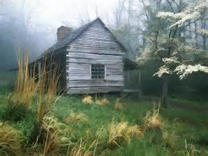 Smoky Mountain Cabin Paintings