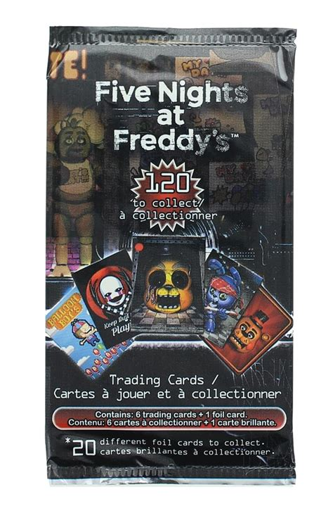 Give them the gift of choice with a freddy gift card. Collectible Card Games Five Nights At Freddys Trading Collector Cards Collectables optexindia.in