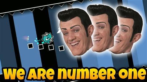 We Are Number One But It's A Epic Geometry Dash Level ( ͡