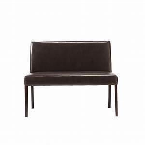 Banquette Maison Du Monde : banquette de table aspect cuir marron lounge maisons du ~ Premium-room.com Idées de Décoration